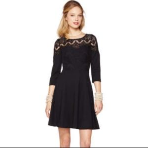 Lilly Pulitzer Black Remmy Fit-and-Flare Dress